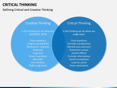 Critical thinking PPT slide 13