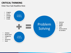 Critical thinking PPT slide 21