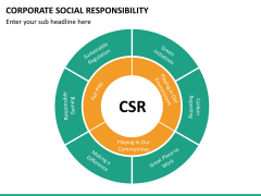 Corporate social responsibility PPT slide 34