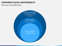 Corporate social responsibility PPT slide 14