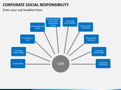 Corporate social responsibility PPT slide 18