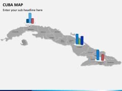 Cuba map PPT slide 17