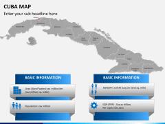 Cuba map PPT slide 18