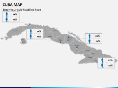 Cuba map PPT slide 19