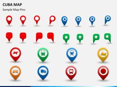 Cuba map PPT slide 25