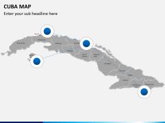Cuba map PPT slide 4