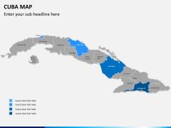 Cuba map PPT slide 8