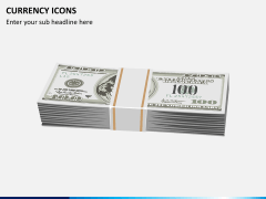 Currency icons PPT slide 6