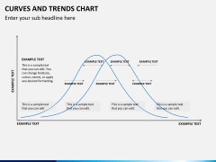 Curve and trends chart PPT slide 1