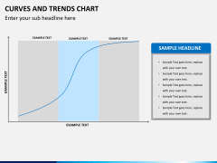 Curve and trends chart PPT slide 8