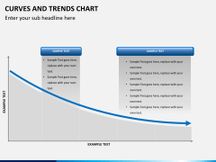 Curve and trends chart PPT slide 9