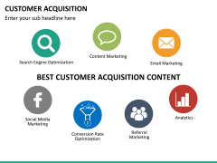 Customer acquisition PPT slide 26