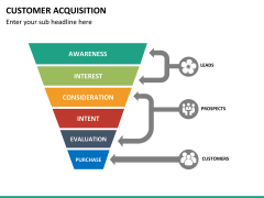 Customer acquisition PPT slide 18