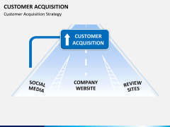 Customer acquisition PPT slide 10