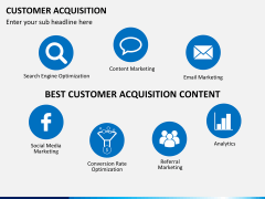 Customer acquisition PPT slide 13