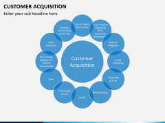 Customer acquisition PPT slide 3