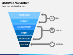 Customer acquisition PPT slide 5