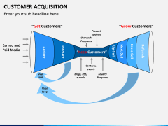 Customer acquisition PPT slide 6