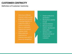 Customer centricity PPT slide 24