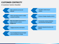 Customer centricity PPT slide 4