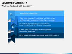 Customer centricity PPT slide 8