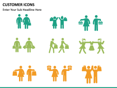 Customer Icons PPT slide 6