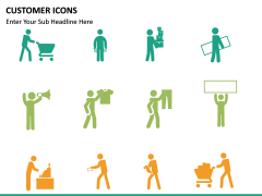 Customer Icons PPT slide 8