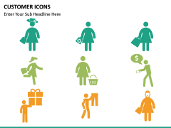 Customer Icons PPT slide 9