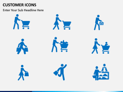 Customer Icons PPT slide 2