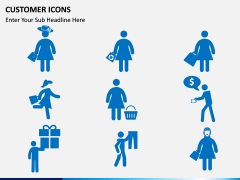 Customer Icons PPT slide 4