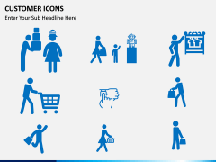 Customer Icons PPT slide 5