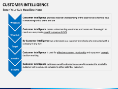 Customer intelligence PPT slide 6