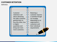 Customer Retention PPT slide 1