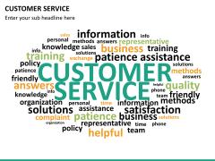 Customer service PPT slide 24