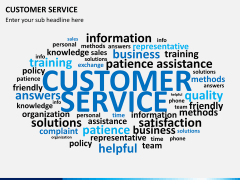 Customer service PPT slide 10