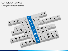 Customer service PPT slide 13