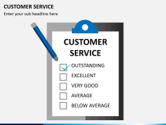 Customer service PPT slide 3
