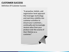 Customer Success PPT slide 2