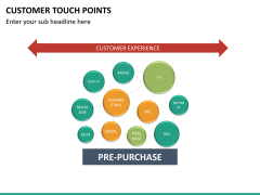 Customer touch points PPT slide 6