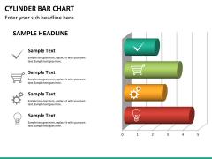 Cylinder bar chart PPT slide 20