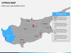 Cyprus map PPT slide 10
