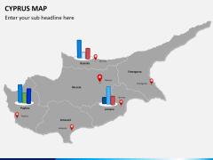 Cyprus map PPT slide 14