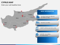 Cyprus map PPT slide 15