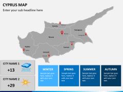 Cyprus map PPT slide 16