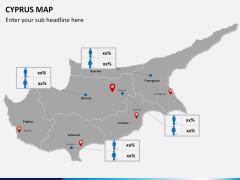 Cyprus map PPT slide 17