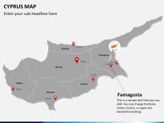 Cyprus map PPT slide 18