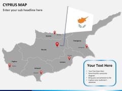 Cyprus map PPT slide 19