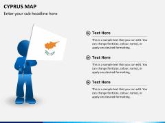 Cyprus map PPT slide 21