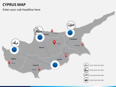 Cyprus map PPT slide 6