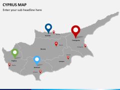 Cyprus map PPT slide 7